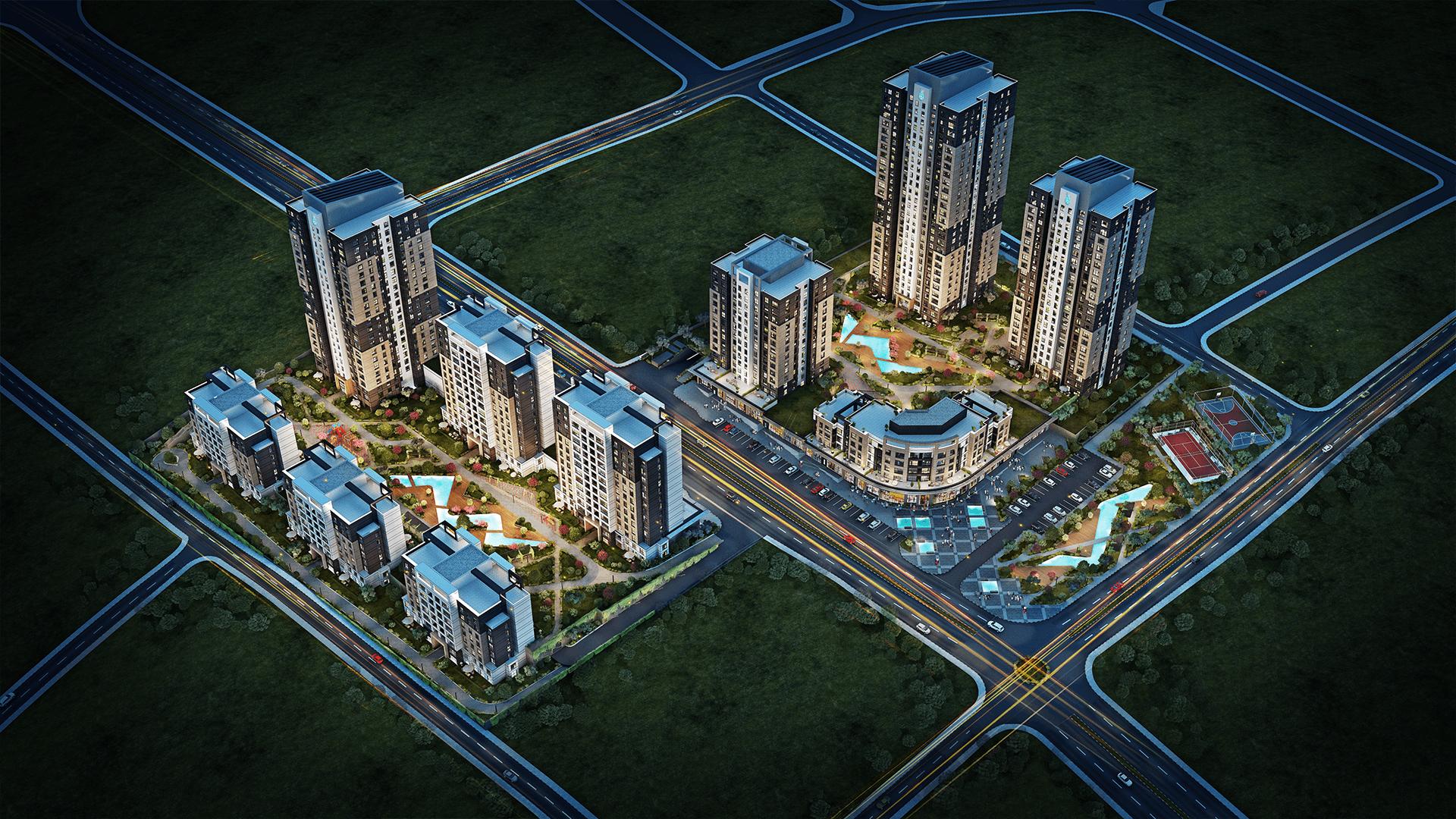 مشروع مساكن إسطنبول